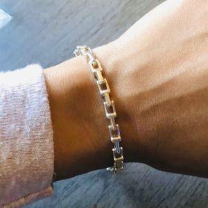 Tiffany Co T Bracelet - Elegantly Strong - 925